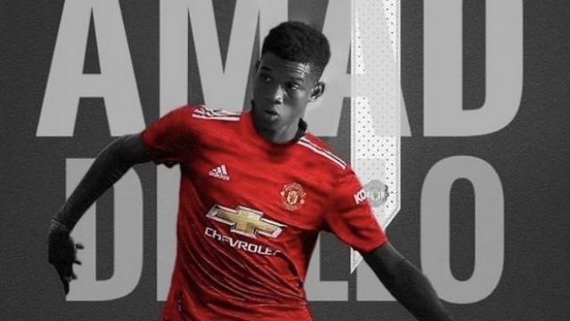 Manchester United Amad Dialloyu kadrosuna kattı