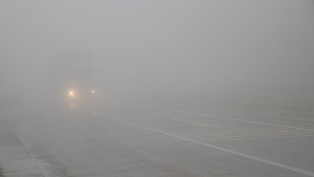 Bolu Dağında yoğun sis: Görüş mesafesi 15 metreye düştü