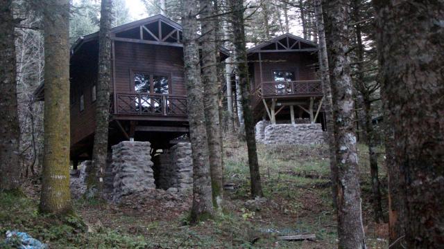 Boluda 7 milyon lira harcanan bungalovlar atıl kaldı