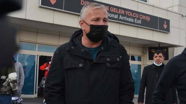 Dan Petrescu Kayseriye geldi
