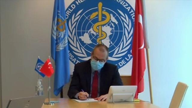 DSÖ Avrupa Direktörü Klugedan Türkiyeye tebrik