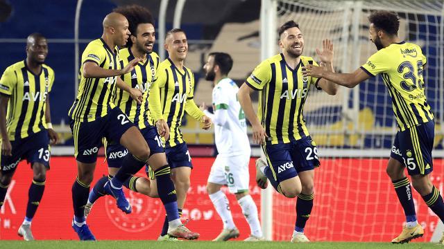 Fenerbahçe zirveden kopmadı