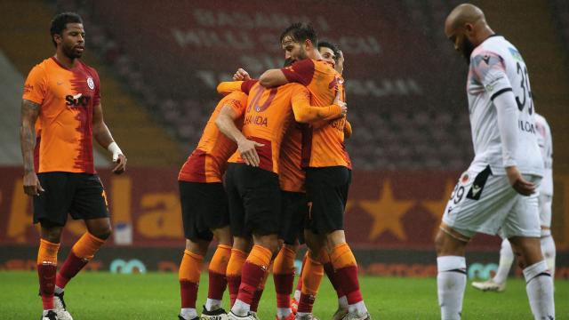 Belhanda coştu Galatasaray kazandı