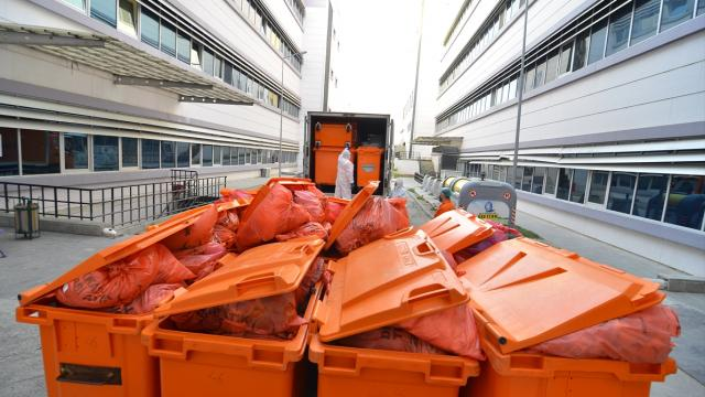 Çorumda bir yılda 759 ton tıbbi atık bertaraf edildi