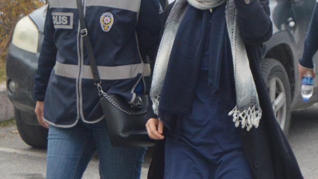 Hakkında kesinleşmiş 9 yıl hapis cezası olan kadın yakalandı