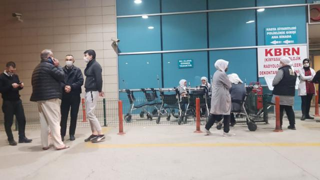 Bursada 18 işçi zehirlenme şüphesiyle hastaneye kaldırıldı