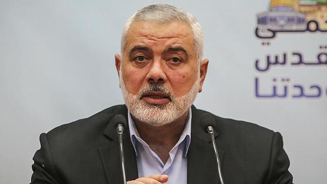 """Hamas lideri Heniyyeden BM ve 4 ülkeye """"Filistinli gruplar arası uzlaşı"""" mektubu"""