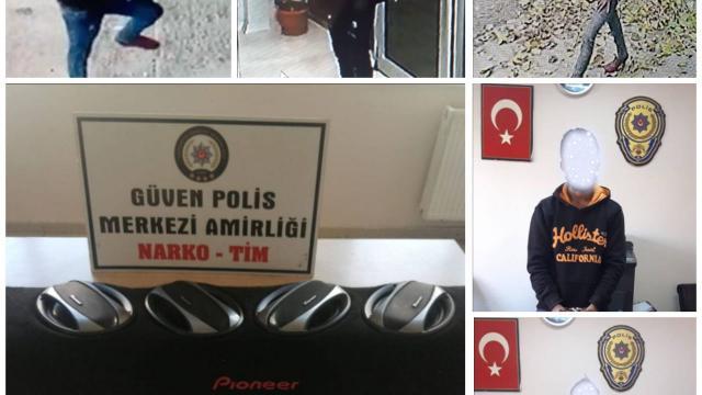 Gaziantepte iş yeri, ev ve araçtan hırsızlık yapan 2 şüpheli yakalandı