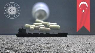 Okyanusun ortasında ilaçları tükenen vatandaşa ilaç ulaştırıldı