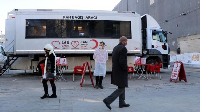 Kan bağışını artırmak için kampanyalar düzenlenmeye başlandı