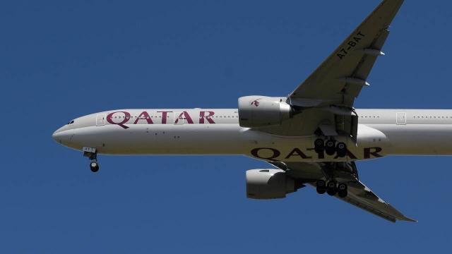 Katar Hava Yolları, Suudi Arabistan hava sahasını kullanmaya başladı