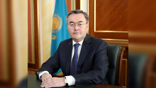Kazakistan Dışişleri Bakanı: Türk dili konuşan ülkelerle ilişkilerimize büyük önem veriyoruz