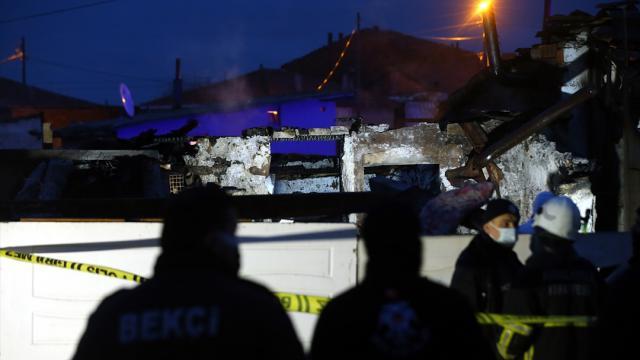 Kırklarelinde evde çıkan yangın sonucu yaşlı kadın yaşamını yitirdi
