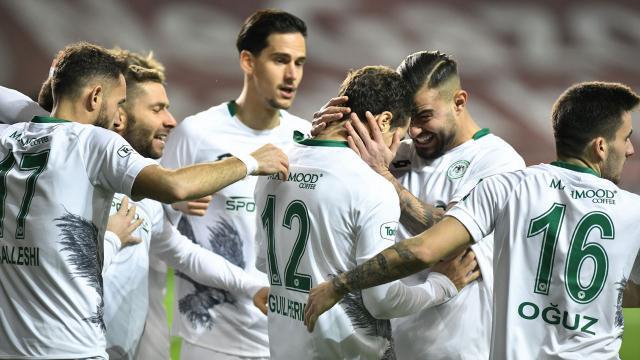Konyasporun golleri yabancı oyunculardan