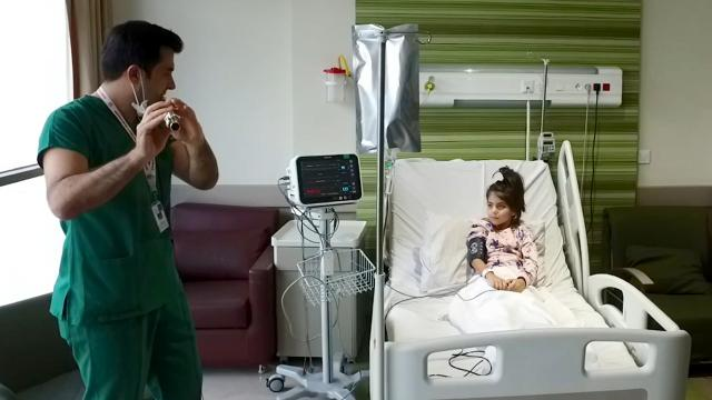 Küçük Zeynep, MİS-C sendromunu yenerek sağlığına kavuştu