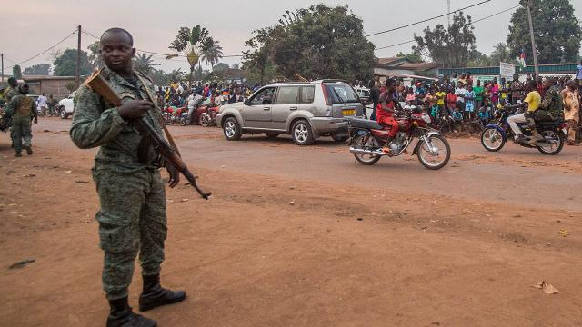 Orta Afrika Cumhuriyetinde sokağa çıkma yasağı ilan edildi