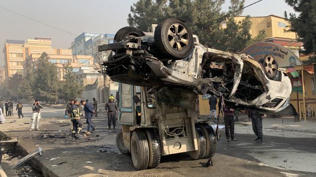 Kabilde bombalı saldırıda 3 kişi öldü