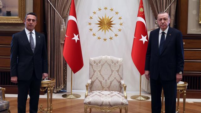 Cumhurbaşkanı Erdoğan Ali Koçu kabul etti