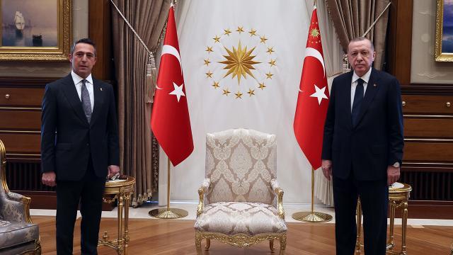 Cumhurbaşkanı Erdoğan, Ali Koçu kabul etti