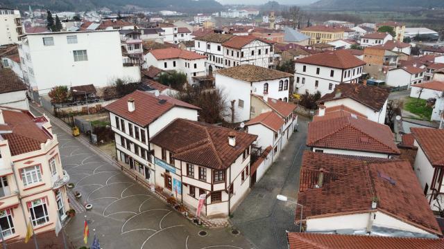 Osmanelinin tarihi konaklarındaki restorasyonlar Kovid-19 sürecinde de devam ediyor