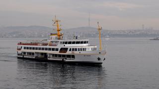 İstanbul'da deniz ulaşımına lodos engeli