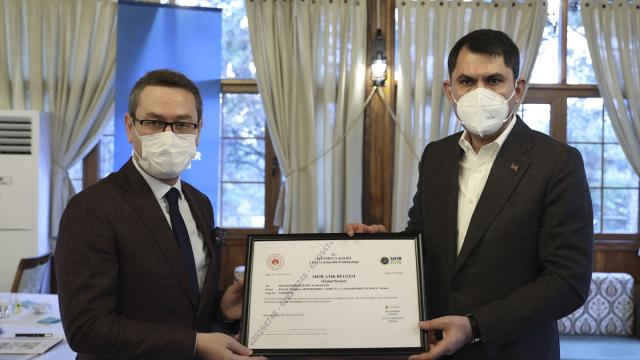 İlk Sıfır Atık Belgesi Başakşehir Belediyesine verildi