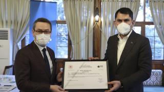 İlk 'Sıfır Atık Belgesi' Başakşehir Belediyesine verildi