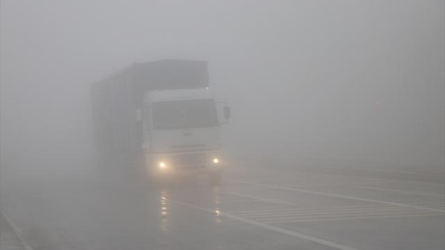 Hatayda yoğun sis hayatı olumsuz etkiledi