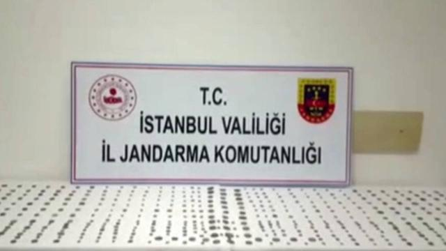 İstanbulda tarihi eser operasyonu: 479 sikke ele geçirildi