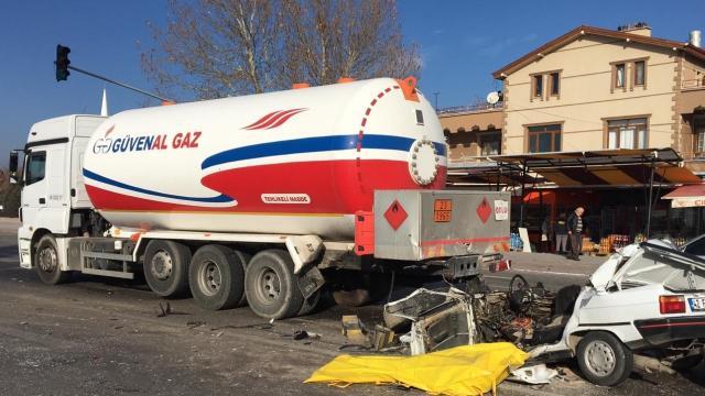 Konyada trafik kazası: 1 ölü