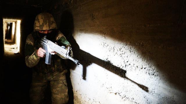 8 terörist daha saklandıkları tünelde etkisiz hale getirildi