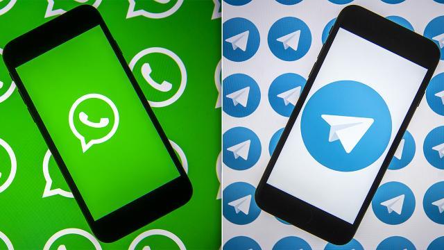 Telegramdan WhatsAppa gönderme