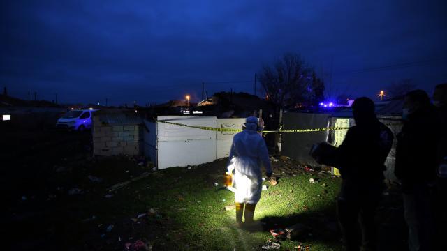 Kırklarelinde evde çıkan yangında yaşlı kadın yaşamını yitirdi