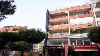 Alanya'da 5 katlı bina yıkılma riski nedeniyle boşaltıldı