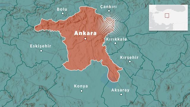 """""""Ankarada tarihsel süreçte büyük bir deprem yok"""""""
