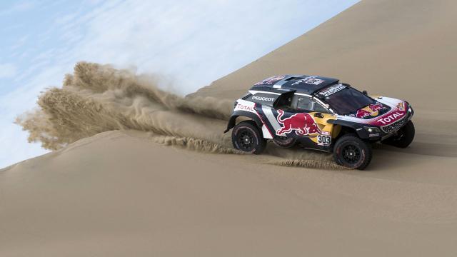 Dakar Rallisinde 8. etap tamamlandı