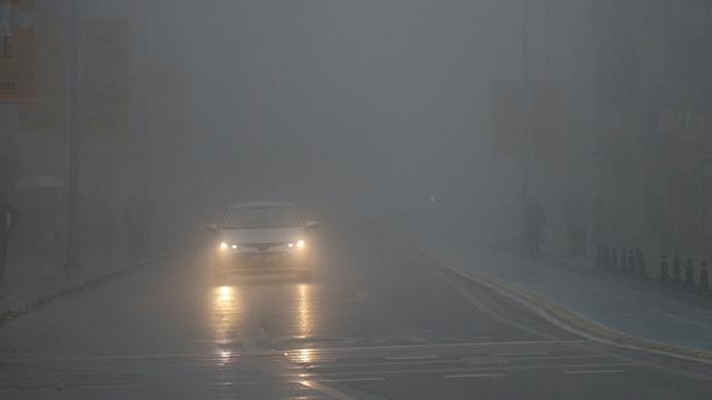 Düzce ve Boluda sis etkili oluyor