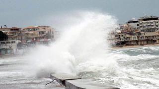 Meteoroloji'den Ege'ye fırtına uyarısı