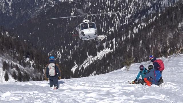 Avrupalı kayakçılar Heliski için Kaçkarları tercih etti