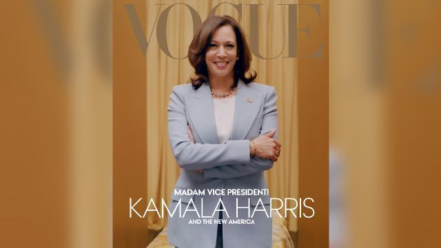 Kamala Harrisin ten rengiyle oynayan Vogue eleştirilerin hedefinde