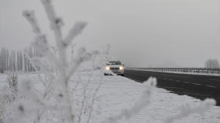 Gece en düşük sıcaklık eksi 13 dereceyle Kars'ta ölçüldü