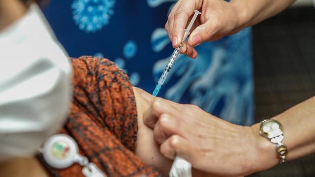Meksikada haftada 439 bin koronavirüs aşısı yapılacak