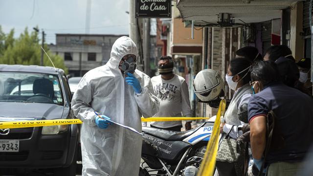 Koronavirüsün hızlı yayılan türü Ekvadorda da görüldü