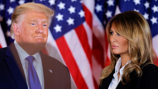 Melania Trump, Kongre baskını için konuştu: Ümitsizliğe kapıldım