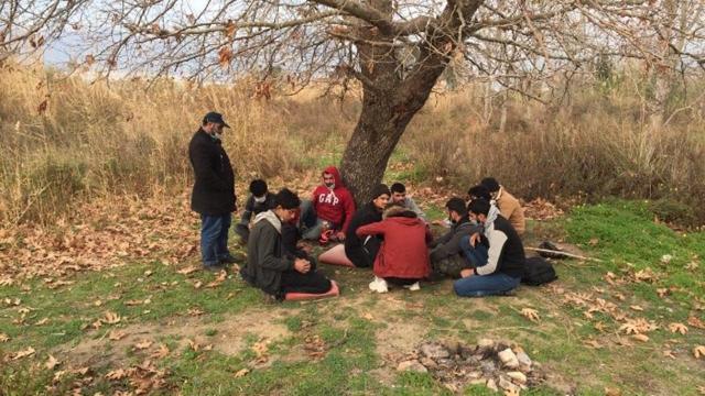Bitliste 23 düzensiz göçmen yakalandı