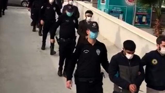 Mersinde PKK/KCK operasyonu: 6 tutuklama