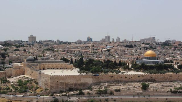 Filistin, İsrail kazılarının durdurulması için BMye çağrı yaptı