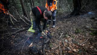 Bursa'da mangal ateşi 10 dönümü yaktı