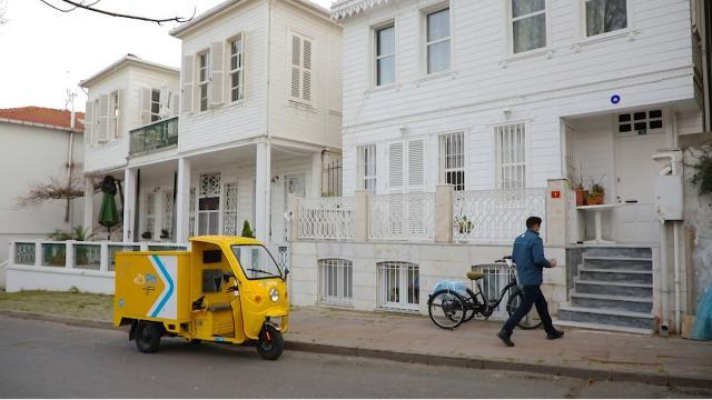 Elektrikli araçlar Adalarda hizmete başladı