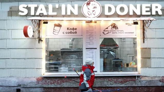 Moskovadaki Stalin Döner kapandı